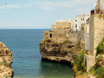 Polignano a mare, Italy Stock Images