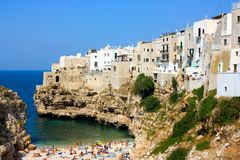 Polignano a mare, Italy Royalty Free Stock Photography