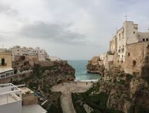 Polignano a Mare royalty free stock image