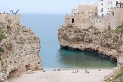 Polignano a mare, Puglia, Italy Royalty Free Stock Photos