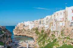 Polignano a Mare in Puglia, Italy Royalty Free Stock Image