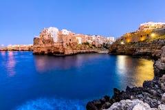 Polignano a Mare, Pulgia, Italy (HDR) Stock Photos