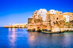 Polignano a Mare, Pulgia, Italy Stock Images