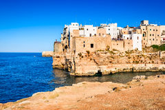 Polignano a Mare, Pulgia, Italy Royalty Free Stock Images