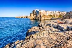 Polignano a Mare, Pulgia, Italy Royalty Free Stock Image