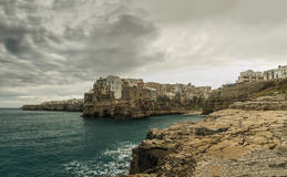 Polignano a mare seascape Royalty Free Stock Photos
