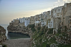 Polignano a mare sunrise Stock Photo