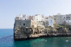 Polignano a mare view, Apulia, Italy Royalty Free Stock Photos