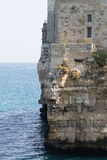 Polignano a mare view, Apulia, Italy Royalty Free Stock Image