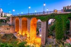 polignano puglia конематки Италии Мост Ponte di Polignano стоковое изображение rf