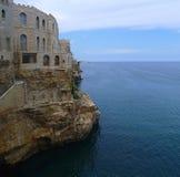 Polignano, Puglia, Italie Image libre de droits