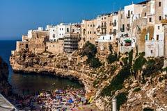 Polignano's beach Royalty Free Stock Photos