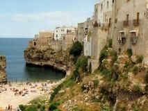 Polignano une jument, Italie Image libre de droits