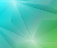 Poligon Geometric Green and Blue Gradient Background Royalty Free Stock Image