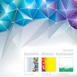 Poligonal geométrico Foto de archivo libre de regalías