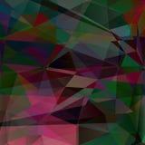 Poligonal-Hintergrund für Design, Illustration Lizenzfreie Stockfotos