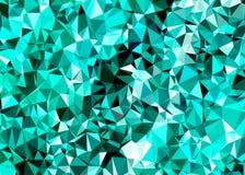 Poligonalny abstrakcjonistyczny tło, niska poli- błyskotliwość ilustracji