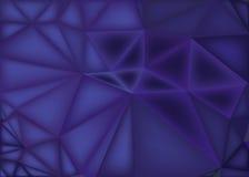 Poligonalny abstrakcjonistyczny tło, niski poli- purpurowy gradient ilustracji