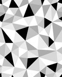 Poligonalny mozaiki tło Fotografia Stock
