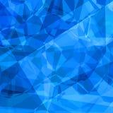 Poligoni blu illustrazione vettoriale
