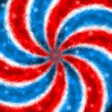Poligono patriottico Immagine Stock