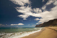 Polihale Beach, Kauai Royalty Free Stock Photo