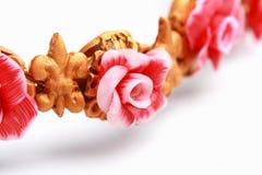 Polimer gliny jewellery Zdjęcia Royalty Free