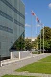 POLIN Museum della storia degli ebrei polacchi Fotografia Stock