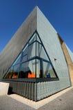 POLIN Museum della storia degli ebrei polacchi Immagini Stock Libere da Diritti