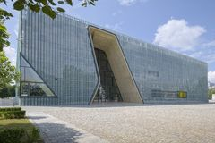 POLIN Museum of the History of Polish Jews Royalty Free Stock Photography