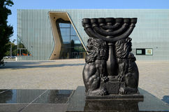 POLIN Museum of the History of Polish Jews. The museum is located in Warsaw (Poland) in a place where during the Second World War, the Nazis established a ghetto Stock Photo