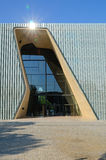 POLIN muzeum historia Polscy żyd Zdjęcia Royalty Free