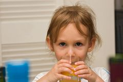 polina 07 παιδιών Στοκ φωτογραφία με δικαίωμα ελεύθερης χρήσης