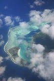 Polinesia francesa aérea fotos de archivo libres de regalías