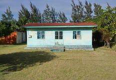 Polinesia francese australe di Rurutu della vecchia casa rustica Immagini Stock Libere da Diritti