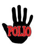 Polio di Handprint Immagini Stock Libere da Diritti
