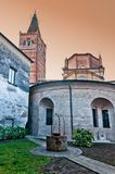 Polirone Abbey in San Benedetto Po, Italy. Stock Photography