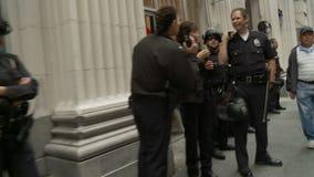 Polis del LA que hacen una pausa metrajes