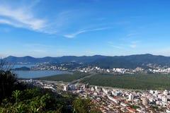 Polis do ³ de Florianà - Santa Catarina - Brasil Foto de Stock