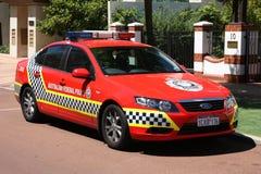 polis för bilfalkford Arkivbild
