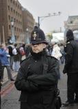 polis för diamonjubileetjänsteman Royaltyfria Bilder