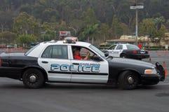 Polis på utbildningskurs Arkivbilder