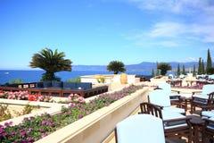 Polis, playa de Latsi, paisaje de Chipre imagenes de archivo