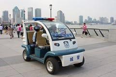 polis shanghai Arkivbilder