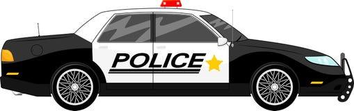 Polisbil Fotografering för Bildbyråer