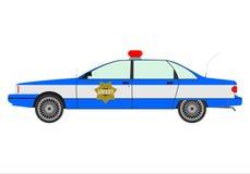 Polisbil Arkivfoto
