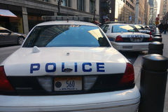 Polisbilar Fotografering för Bildbyråer