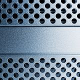 Polised Aluminium Lizenzfreies Stockfoto