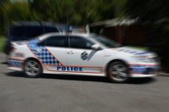 Polisen! Royaltyfria Bilder