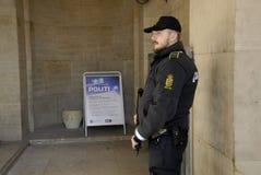 POLISGÅVOR PÅ POLISHUVUDET QUARTTER Royaltyfria Foton